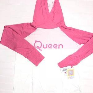 Lularoe BCA Amber Queen Pink Ribbon BNWT